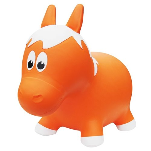 Ballon sauteur Cheval Orange