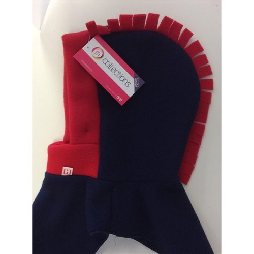 Tuque 2 en 1 - Marine / Rouge 0-2 ans Dragon
