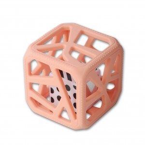 Cube de dentition ChewCube - Rose pêche