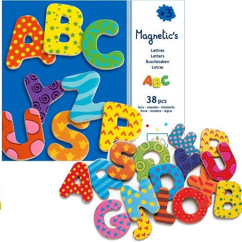 Magnetic's / 38 lettres majuscules