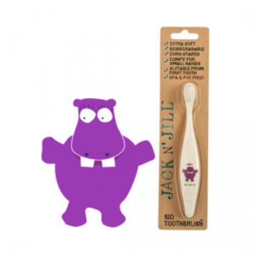 Brosse à dents Biodégradable Hippopotame