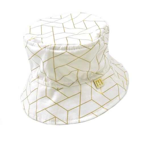 Chapeau Chic Metalic - taille 1 - 39 cm