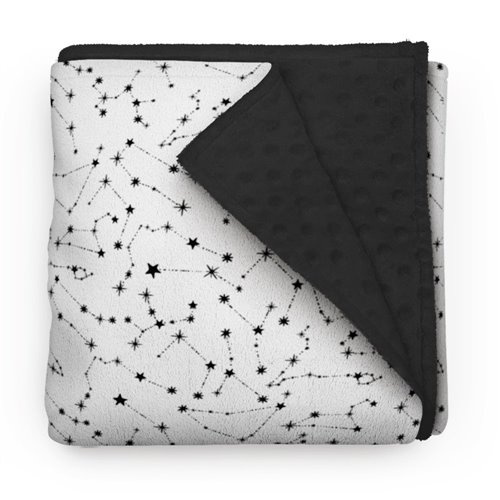 Couverture Minky - Constellation Céleste 28 x 40