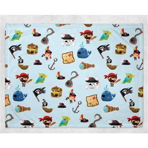 Couverture Minky - Pirate 30 x 40