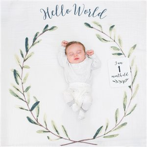Couverture souvenir + Cartes - Hello World Wreath
