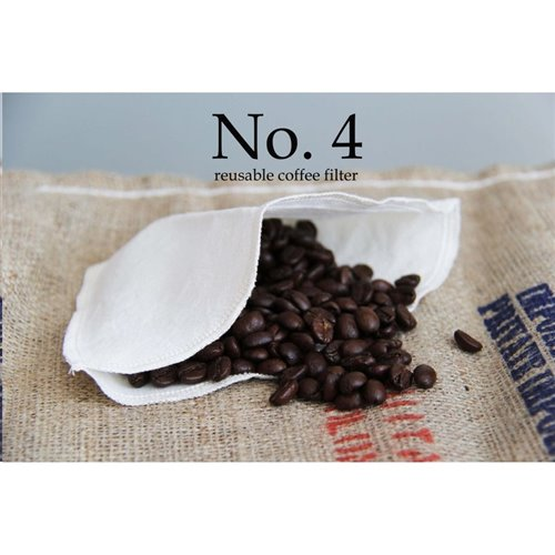 Filtre à café no 4 - réutilisable( paquet de 2 )