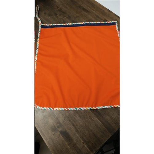 "Humidi-Sac 16"" x 16"" - Orange- Biais Bâtons"