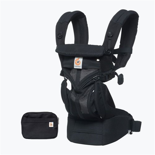 Porte-bébé  Omni 360 - Cool air mesh - Onyx Black