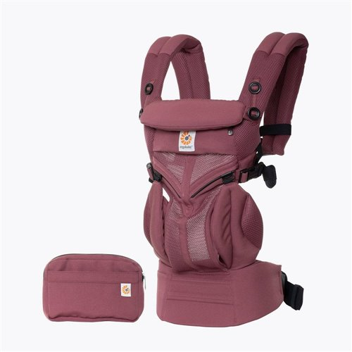 Porte-bébé  Omni 360 - Cool air mesh - Plum
