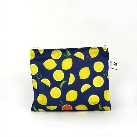Sac imperméable Collation 6'' x 5.5'' Citrons