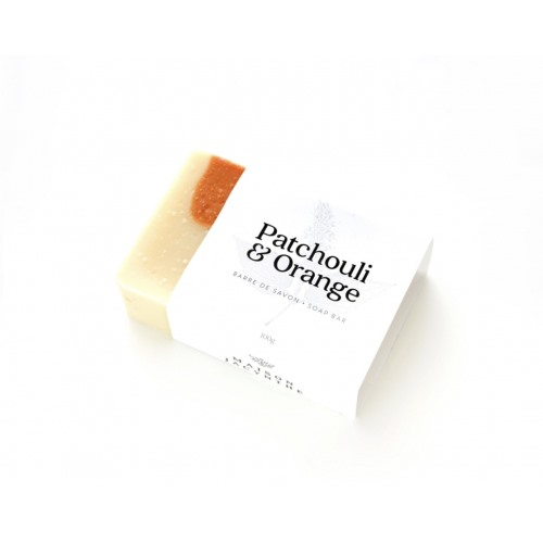 Savon Patchouli et Orange (Jacynthe René) 100 g