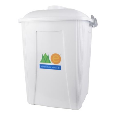 Seau à Couches Carré  Blanc 7 gallons (26L)
