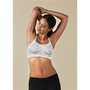 Soutien-gorge Rhythm - M 34-38 B-E White Gray Spacedye