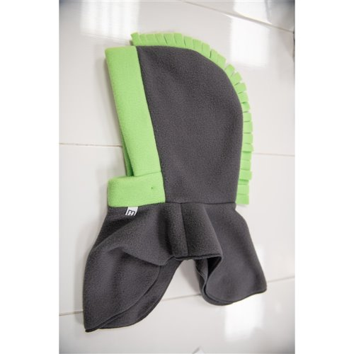 Tuque 2 en 1 - Gris / Lime Dragon 3-5 ans