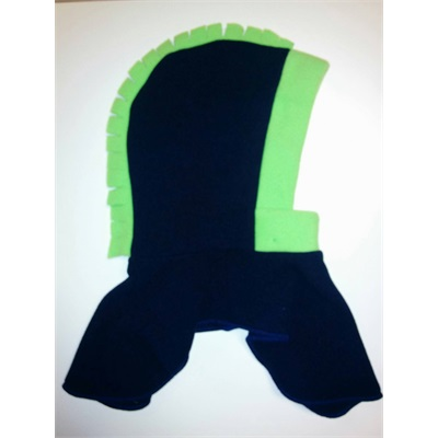 Tuque 2 en 1 - Marine / Lime Dragon 0-2 ans