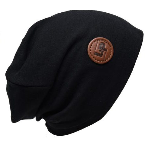 Tuque de Coton Boston - Noir - 2-5T