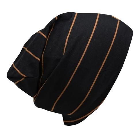 Tuque de Coton Boston - Noir Caramel - Junior