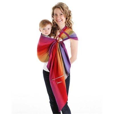 Écharpe ajustable (Ring Sling)  taille 1 (185 cm) Fiesta