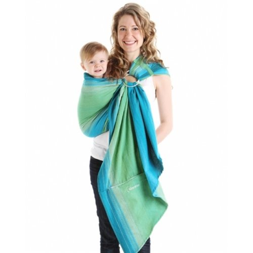 Écharpe ajustable (Ring Sling)  taille 1 (185 cm) Lime