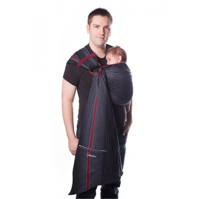 Écharpe ajustable (Ring Sling)  taille 2 (220 cm) Onyx