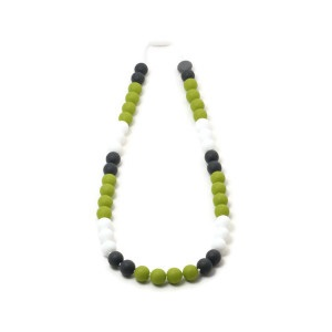 Collier de dentition - Tricolore - Pistache