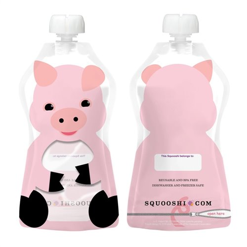 Cochon - Pochette à collation réutillisable 175ml