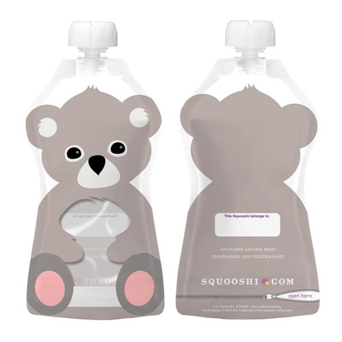 Koala - Pochette à collation réutillisable 175 ml