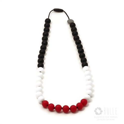 Collier de dentition - Color Bloc - Flamenco