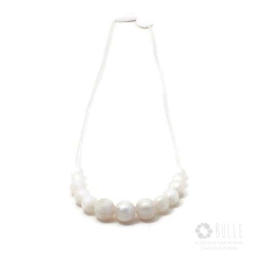 Collier de Dentition Minimaliste - Perle