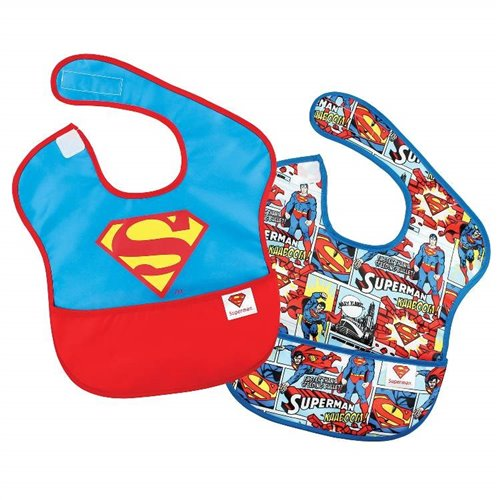 Ensemble de 2 Bavettes sans manches - Superman