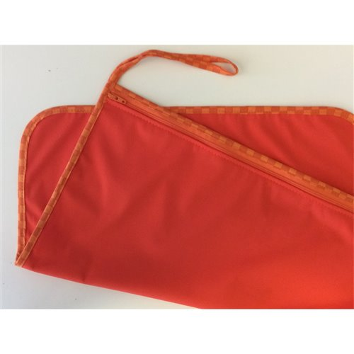 "Humidi-Sac 16"" x 16"" - Orange- Biais Carreaux"