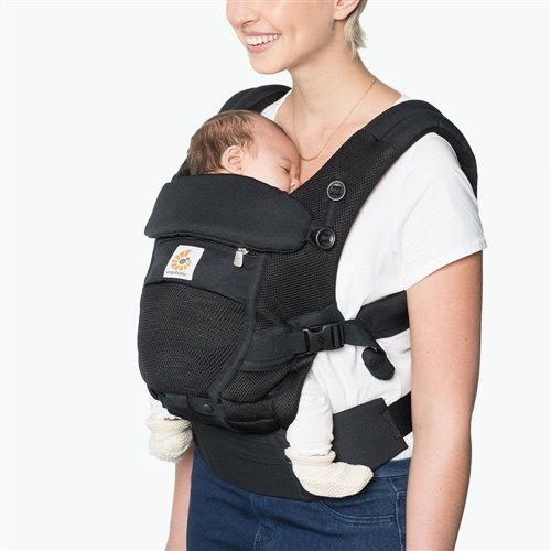 Porte-bébé Adapt - Cool Air Mesh - Noir Onyx