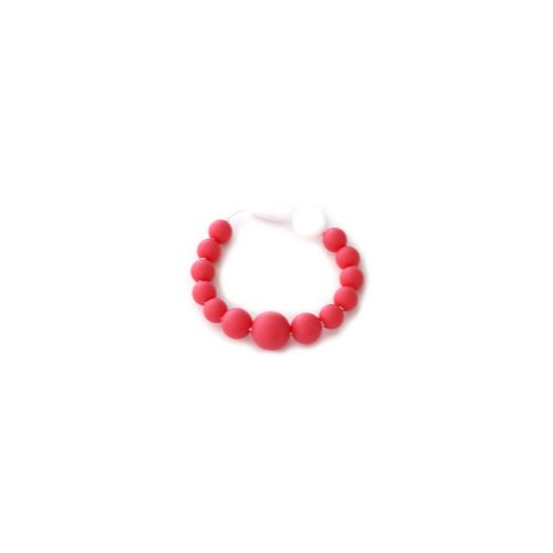 Bracelet de dentition - Billes Corail