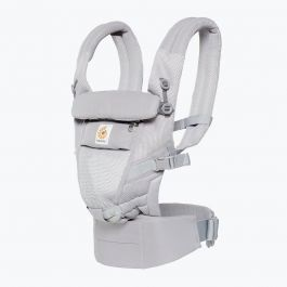 Porte-bébé Adapt - Cool Air Mesh - Gris Perle