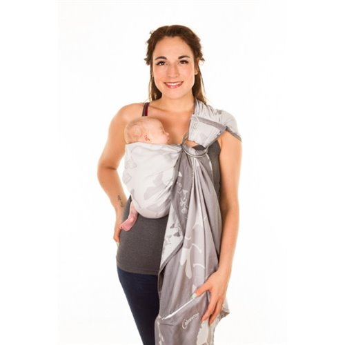 Écharpe ajustable  (Ring Sling) Taille 2 (220cm) Ginkgo Lune