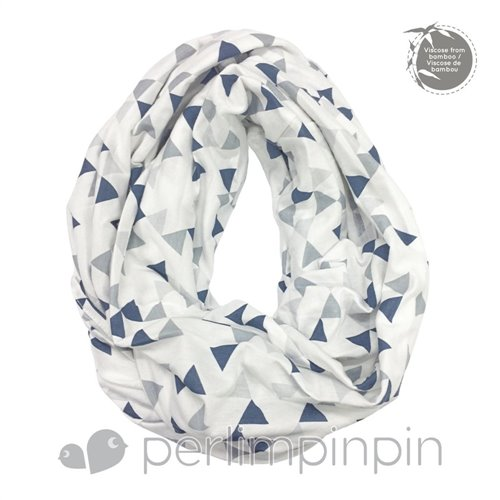 Foulard d'allaitement en Bambou Triangle royal