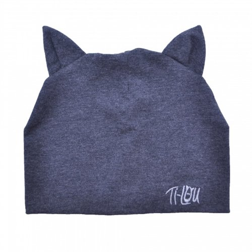 Bonnet chat 1-3 ans - Charcoal