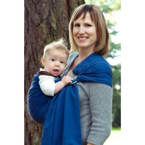 Ring sling Bleu denim