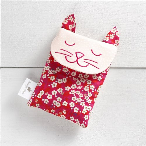 Sac Réconfort - Chat Liberty Fuschia