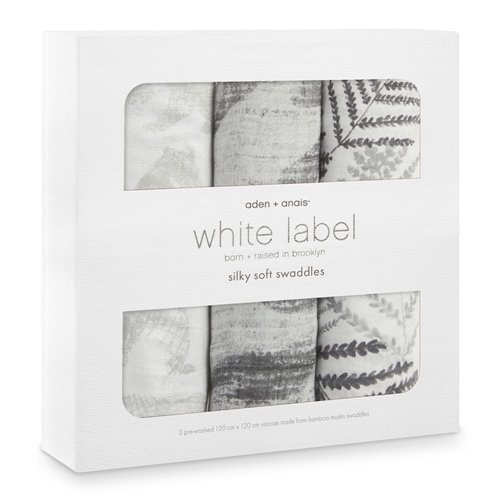 3 couvertures - White label silky soft Foragers