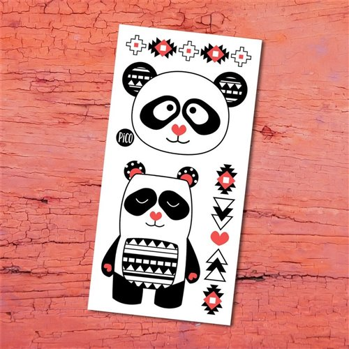 Tatouage temporaire Alex le SUPER panda