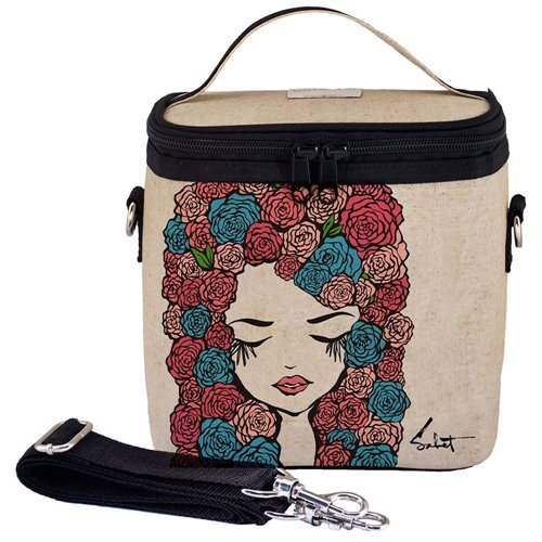 Grand sac isolé  - Pixopop Roses