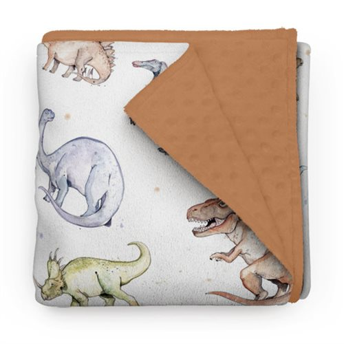 Couverture Minky Dinosaures 30 x 40