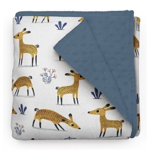 Couverture Minky Cerf 30 x 40