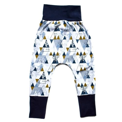 Pantalon évolutif - Triangles 3-6T