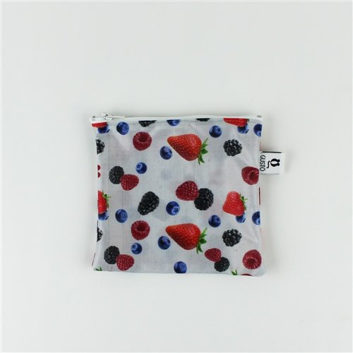 Sac imperméable Collation 6'' x 5.5'' Petits Fruits