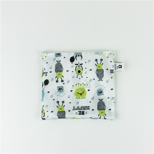 Sac imperméable Sandwich 7'' x 6.5'' Be Happy