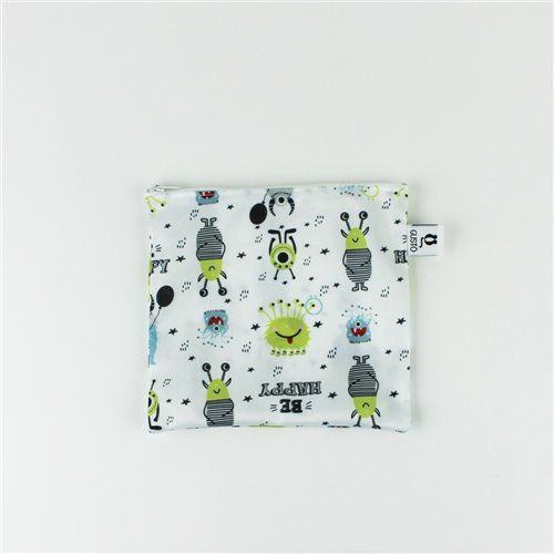 Sac imperméable Familial 8.25'' x 7'' Be Happy