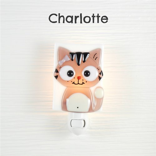 Veilleuse Chatonne - Charlotte