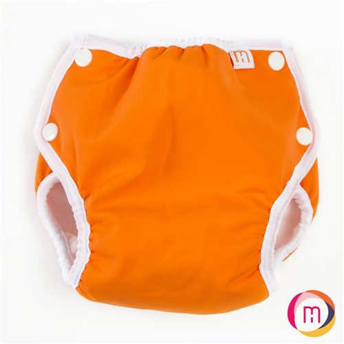 Couche-maillot UV 50 - Orange Hopalo 25-40 lb